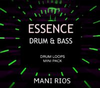 FREE drum & bass drum loops by Mani Rios